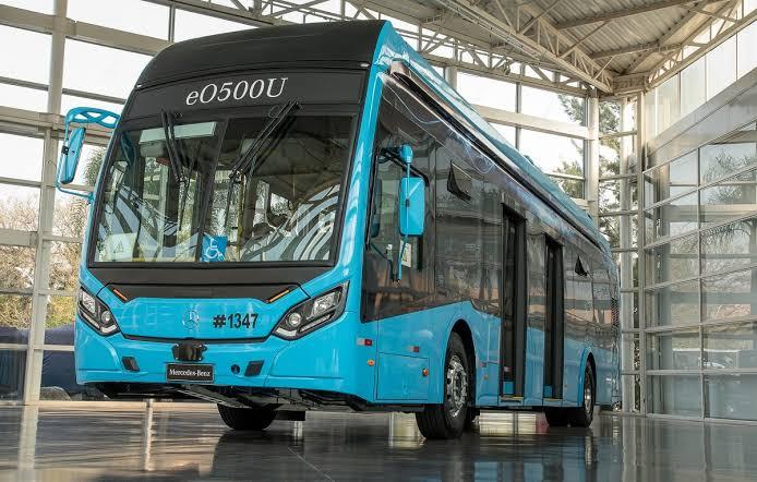 Ônibus elétrico da Mercedes-Benz é atração na Lat.Bus & Transpúblico 2021