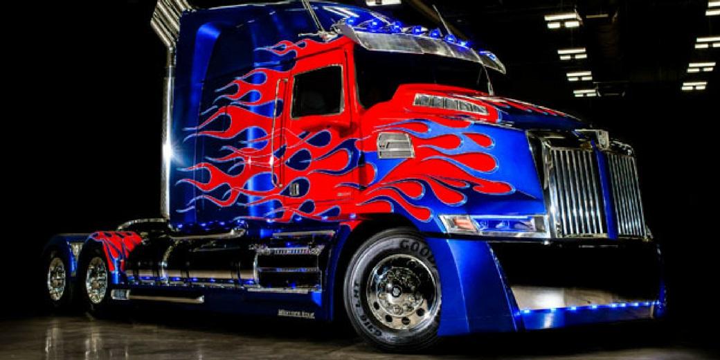 Conheça o caminhão do próximo filme Transformer