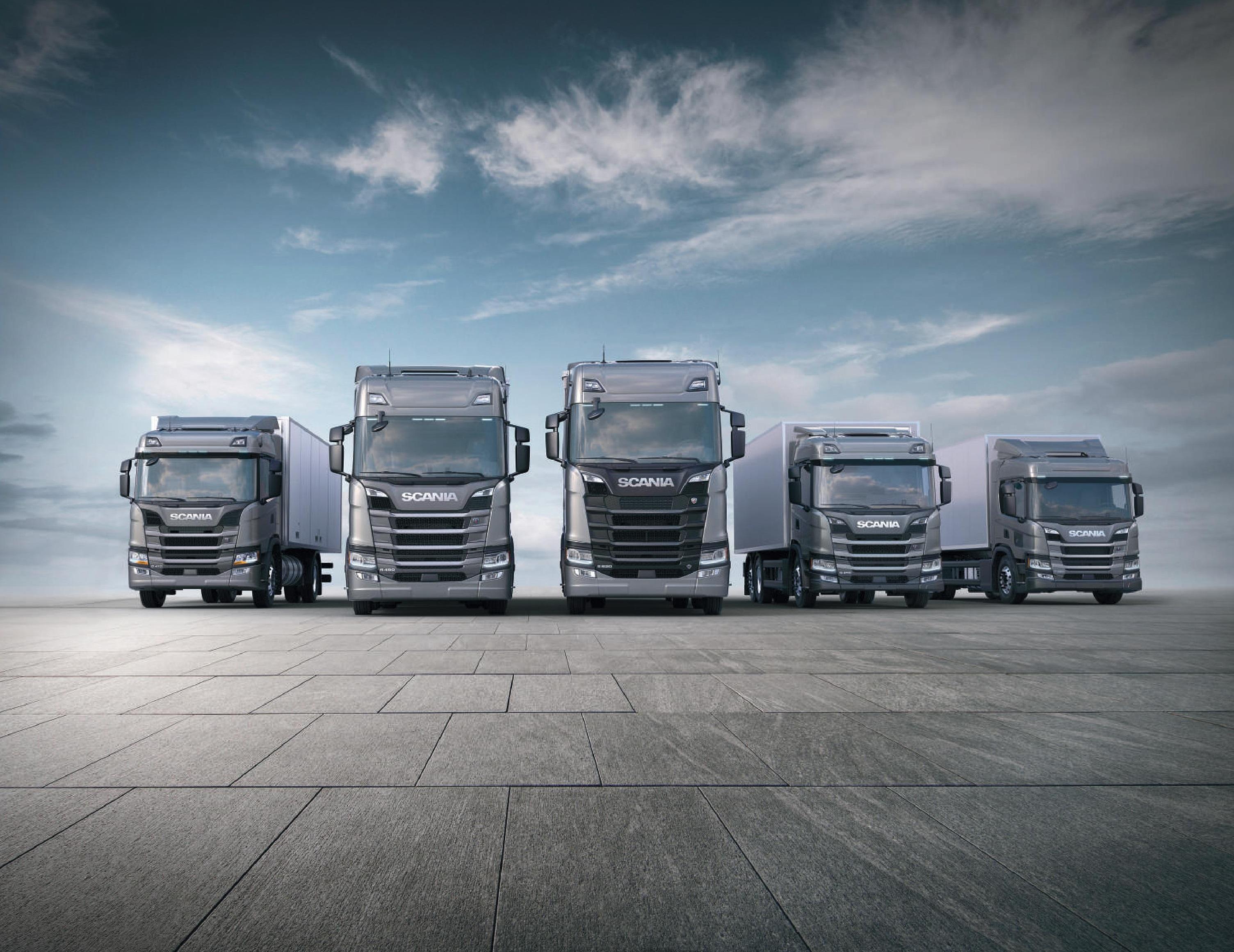 Scania prevê alta no mercado de caminhões em 2021