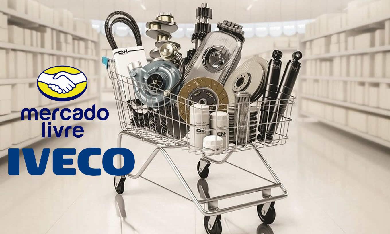Iveco inaugura loja oficial no Mercado Livre