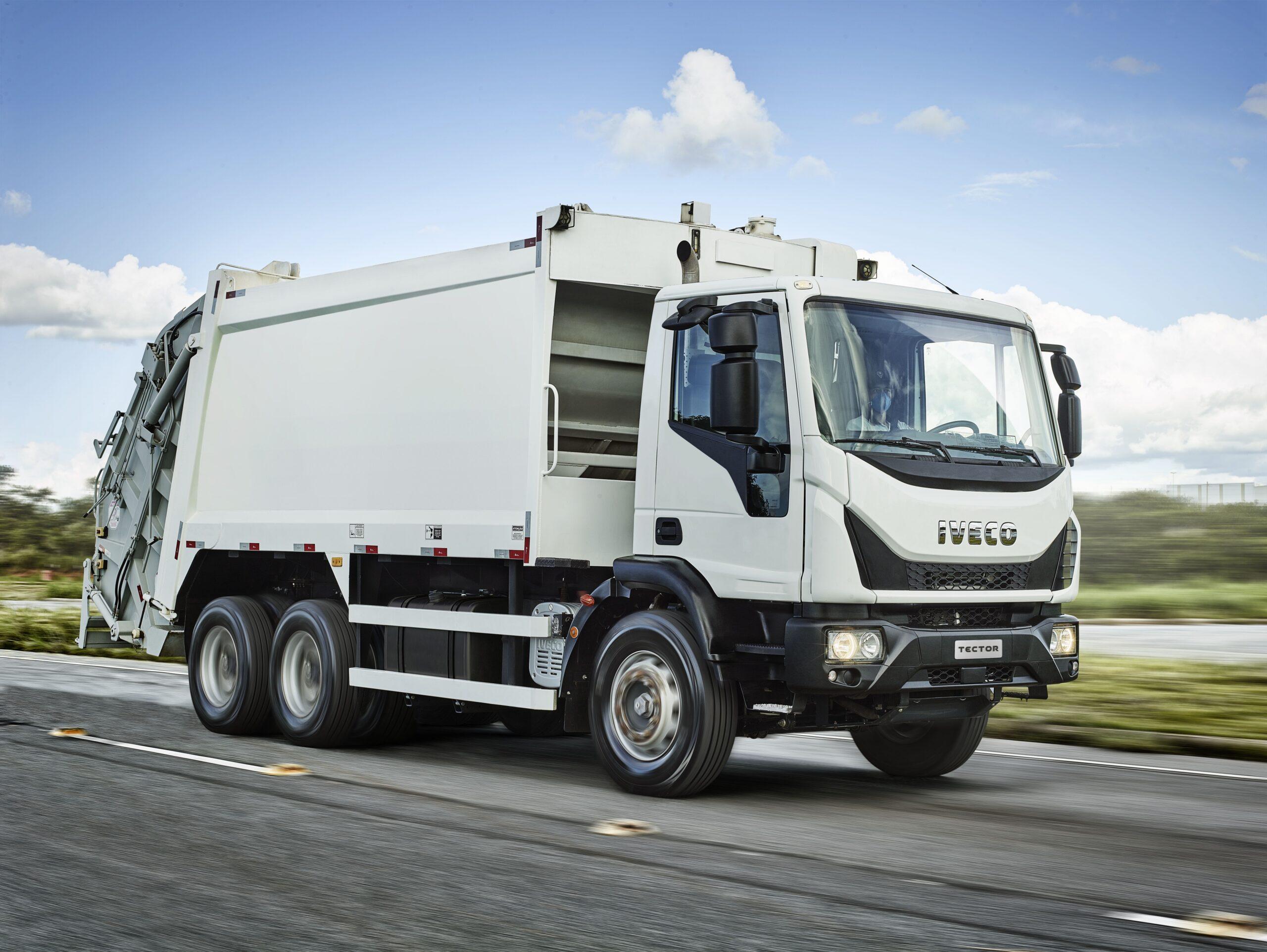 IVECO entra de vez no nicho de coleta de resíduos e lança o Tector Auto-Shift Coletor