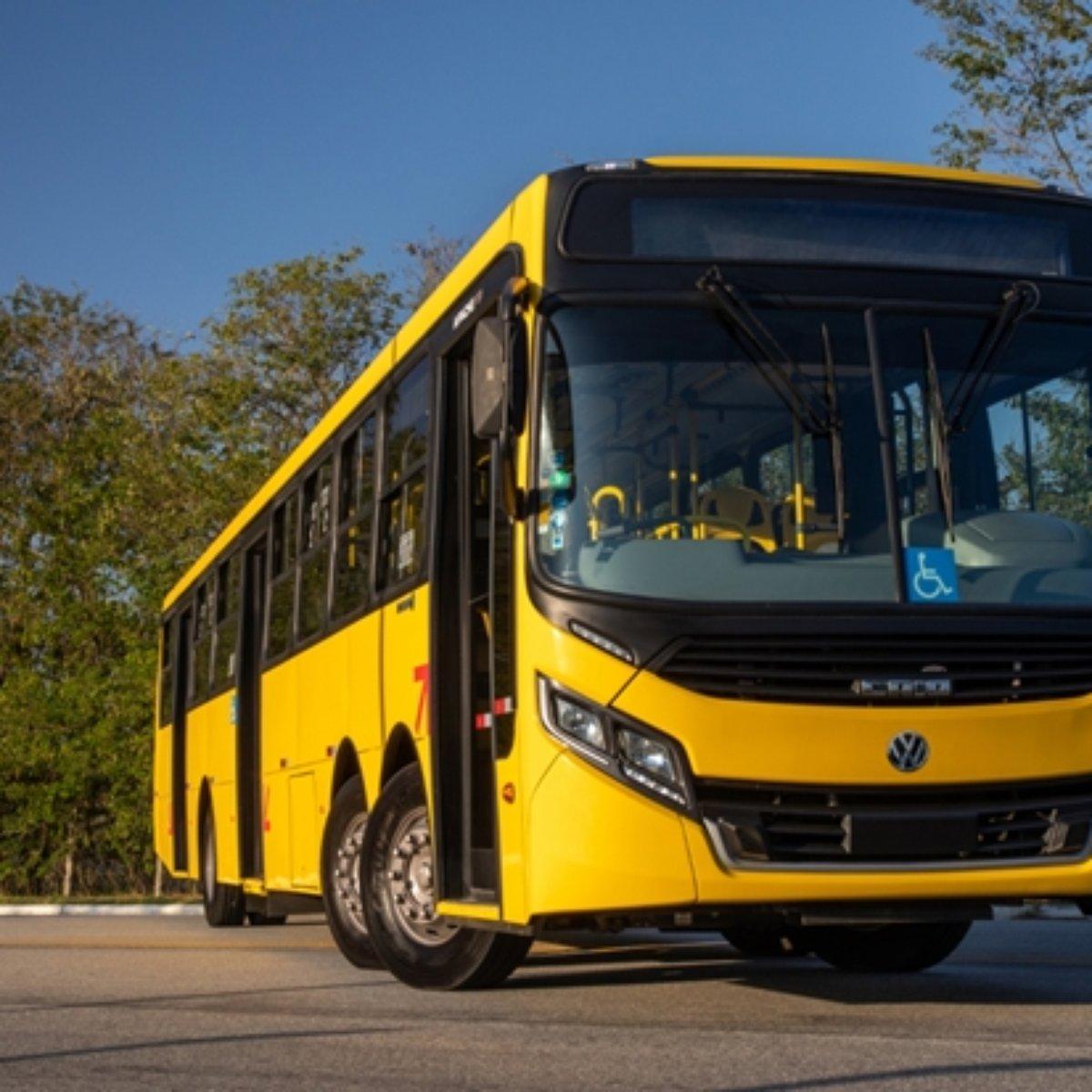 Volksbus 22.280 da Volkswagen é alternativa aos articulados