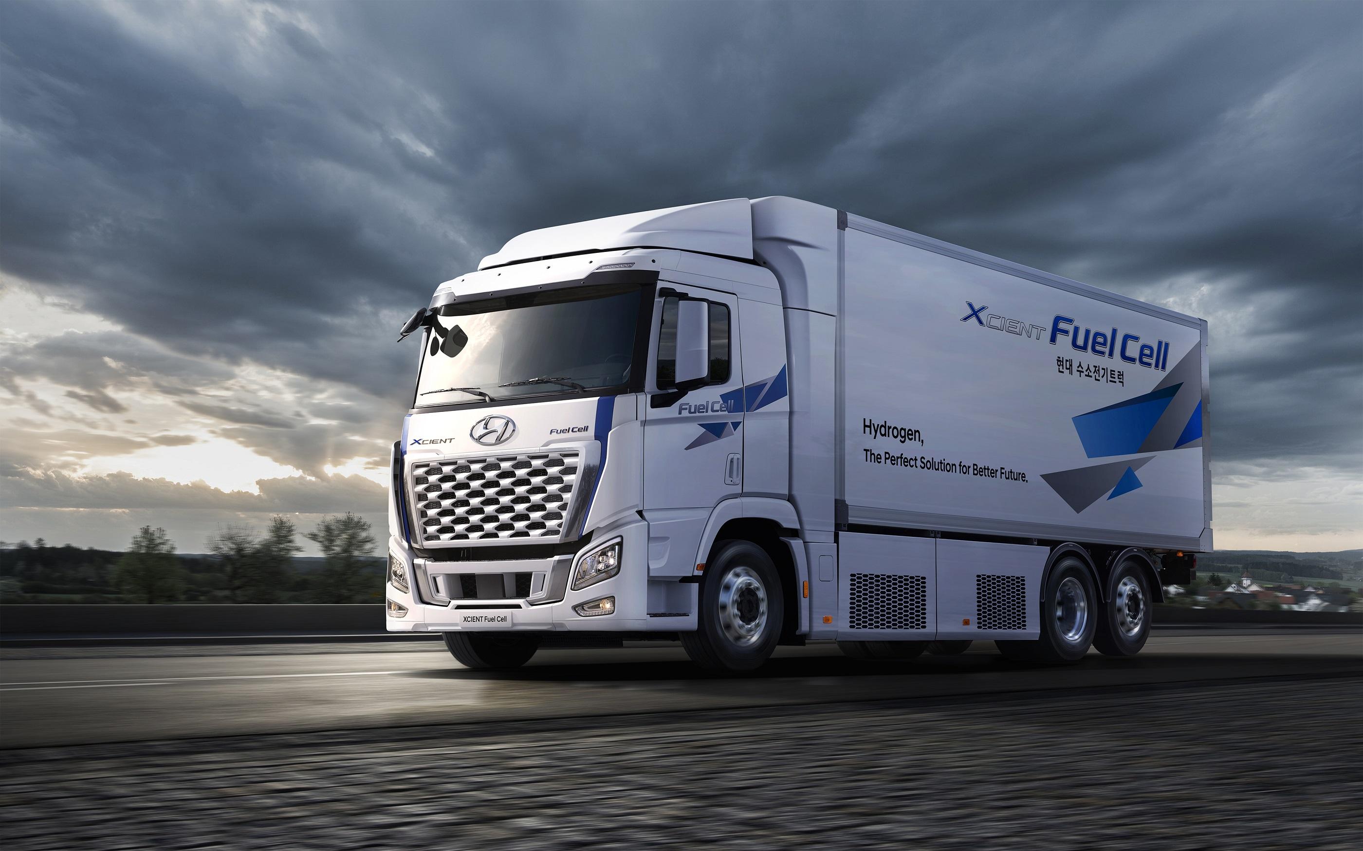 Segunda geração de caminhões a hidrogênio já roda pela Europa